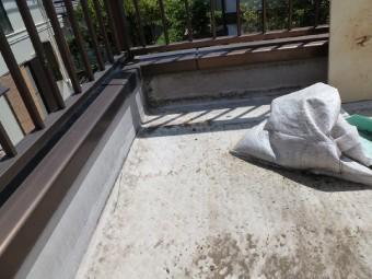 バルコニー防水工事