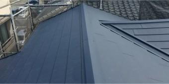 ガルバリウム鋼板の屋根材