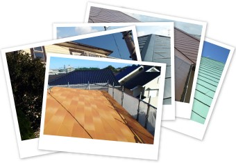 創業以来13年間で3,500棟の屋根リフォームを施工