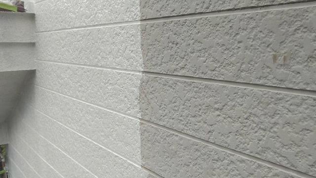 外壁塗装 中塗り施工