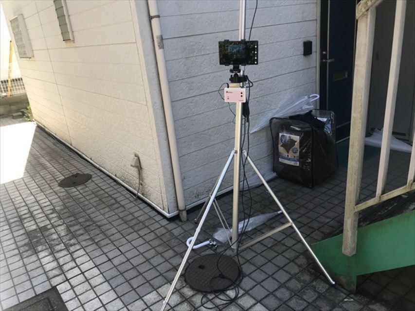 ポールカメラ