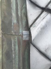 防水テープ処理