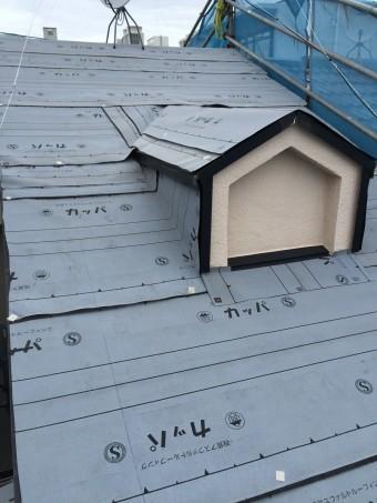 鳩小屋ルーフィング