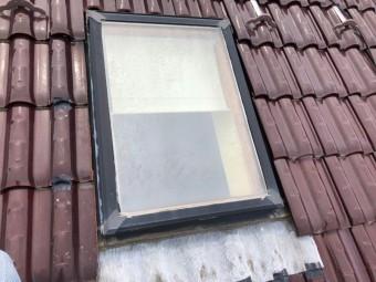 天窓から雨漏り