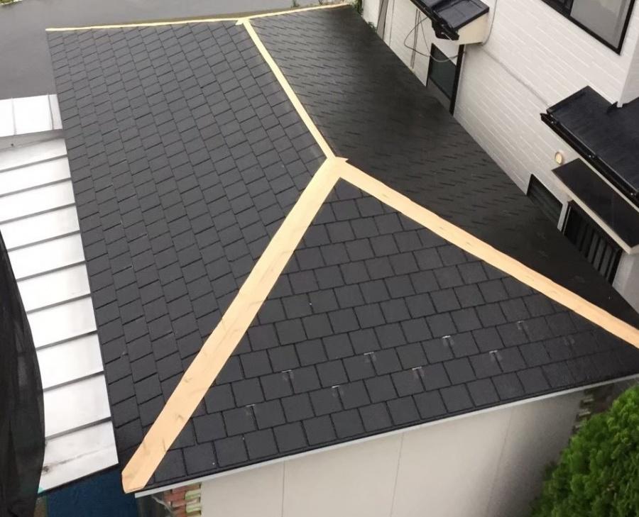 車庫屋根既存