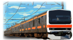 越谷市を走る武蔵野線